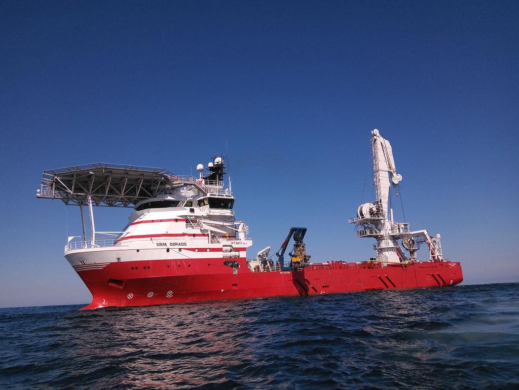 Photo of the MPSV Siem Dorado (Courtesy of Siem Offshore)
