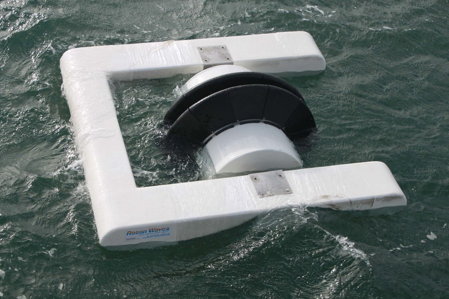 Photo showing Resen Waves' Smart Power Buoy (Courtesy of Resen Waves)
