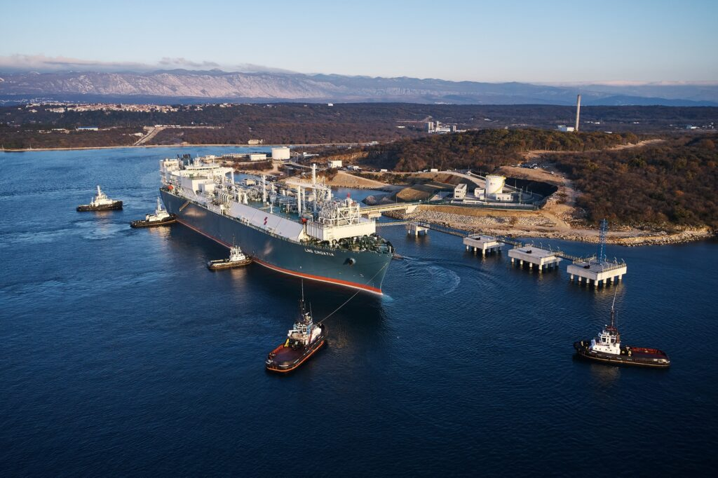 MET Croatia delivers LNG cargo for the first time to Krk terminal
