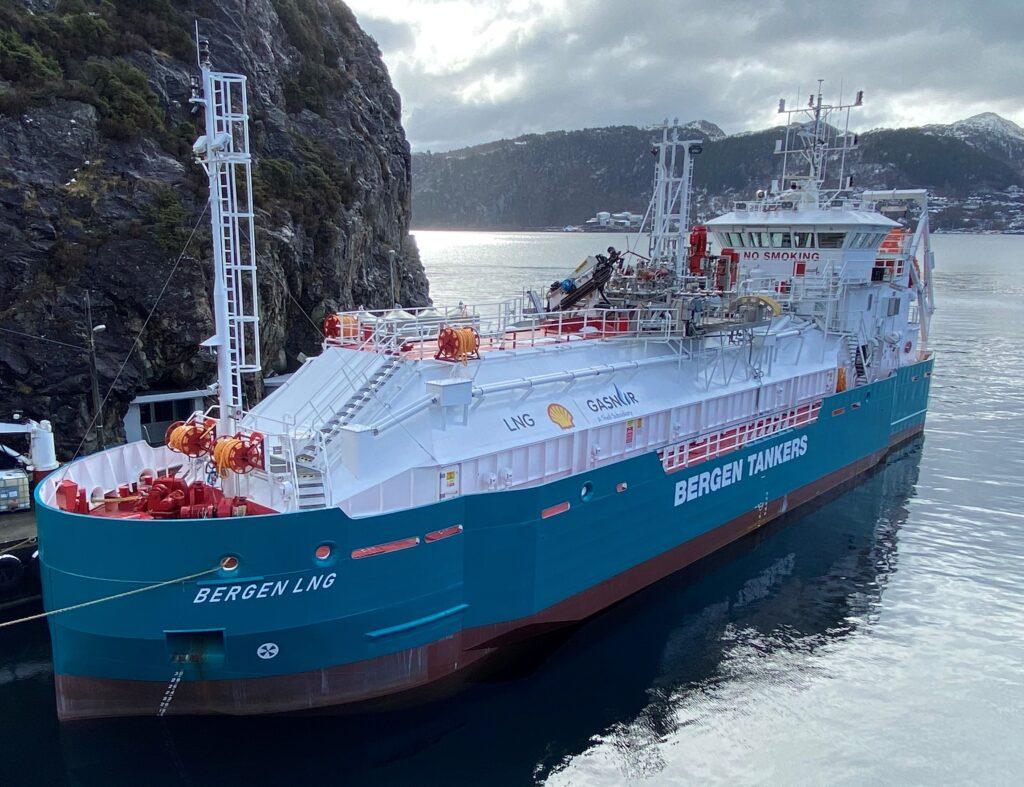 Bergen LNG awarded classification from Bureau Veritas