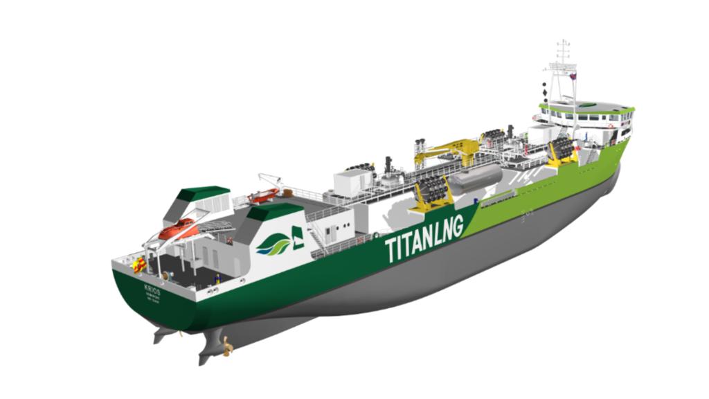 Titan LNG lines up new bunkering vessel