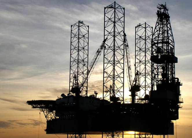 An Aban Offshore jack-up rig