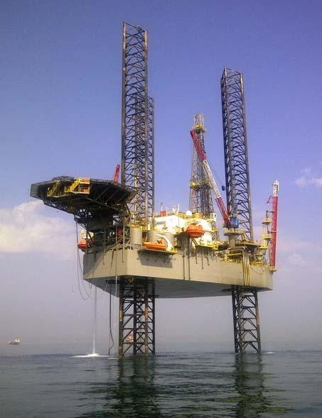High Island IX jack-up rig - Shelf Drilling