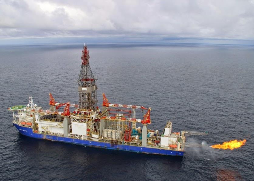 Titanium Explorer drillship - Vantage Drilling