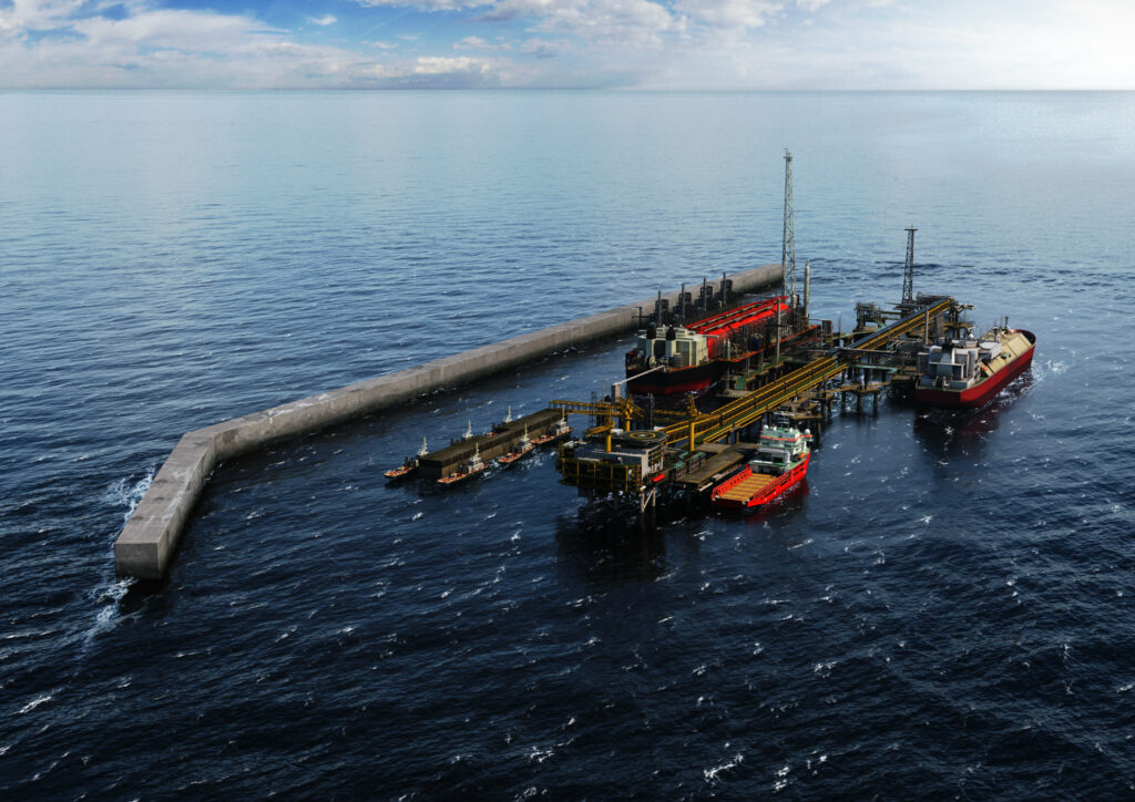 BP-led Tortue FLNG project's Phase 1 58 pct done