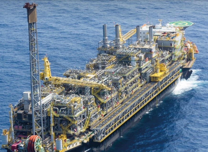 P-77 FPSO is operating on the Buzios field - Petrobras