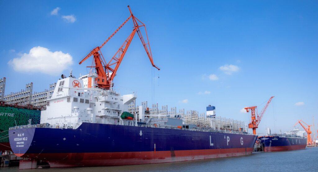 Wärtsilä tech ordered for Oriental's LPG-fueled VLGCs