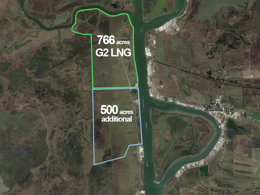 G2 advances its net-zero LNG export project