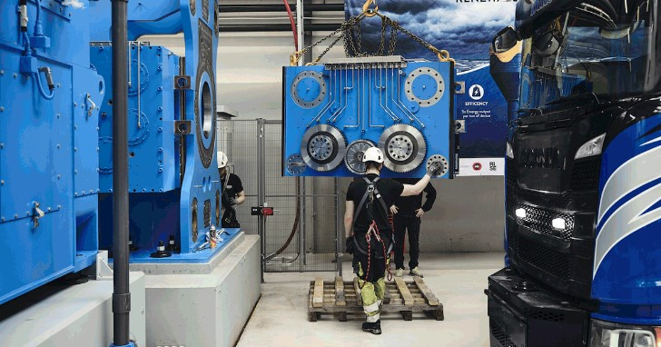 CorPower nearing completion of world's largest wave energy test rig
