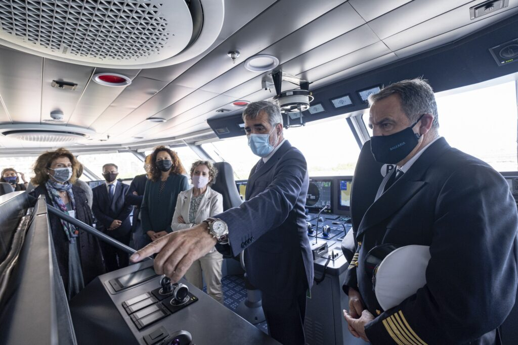 LNG-powered ferry Eleanor Roosevelt officially unveiled
