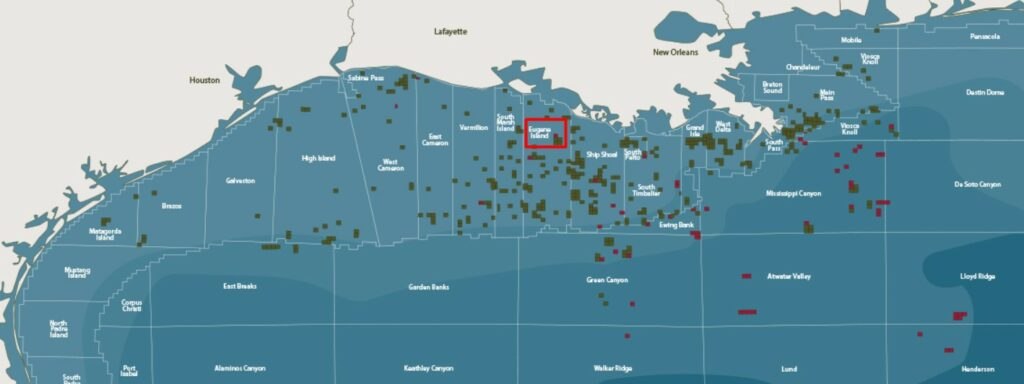 Fieldwood Energy offshore in the Gulf of Mexico
