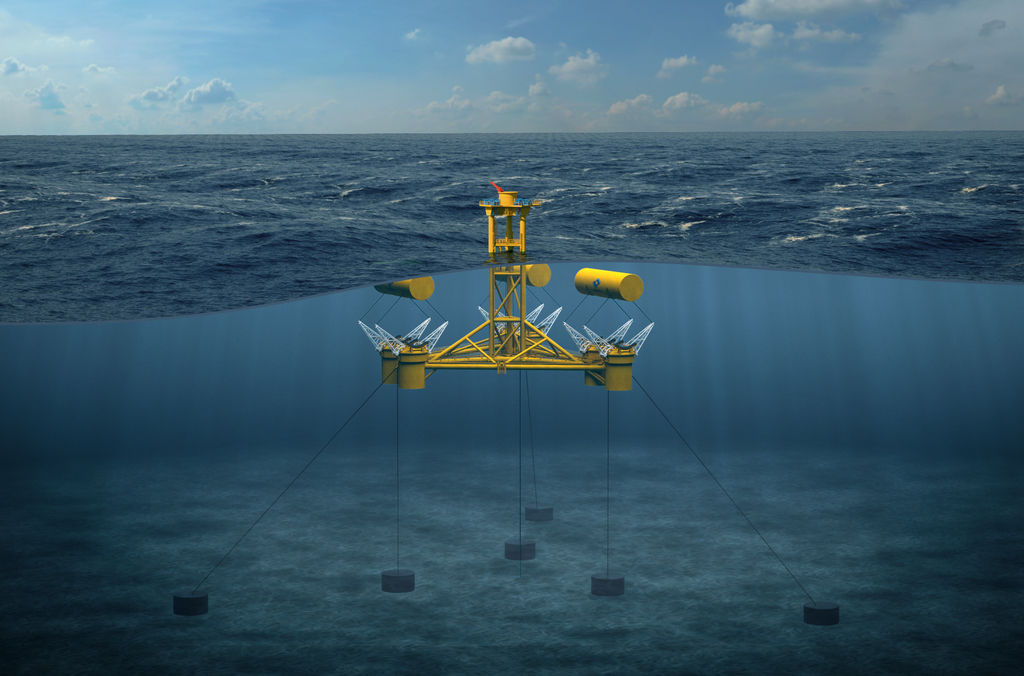 Image showing MPS' WaveSub device (Courtesy of Marine Power Systems)
