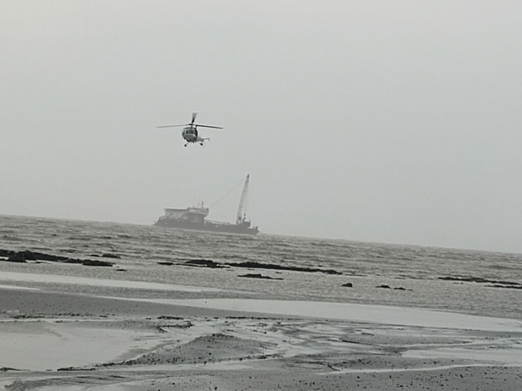 Gal Constructor barge; Source: Indian Coast Guard