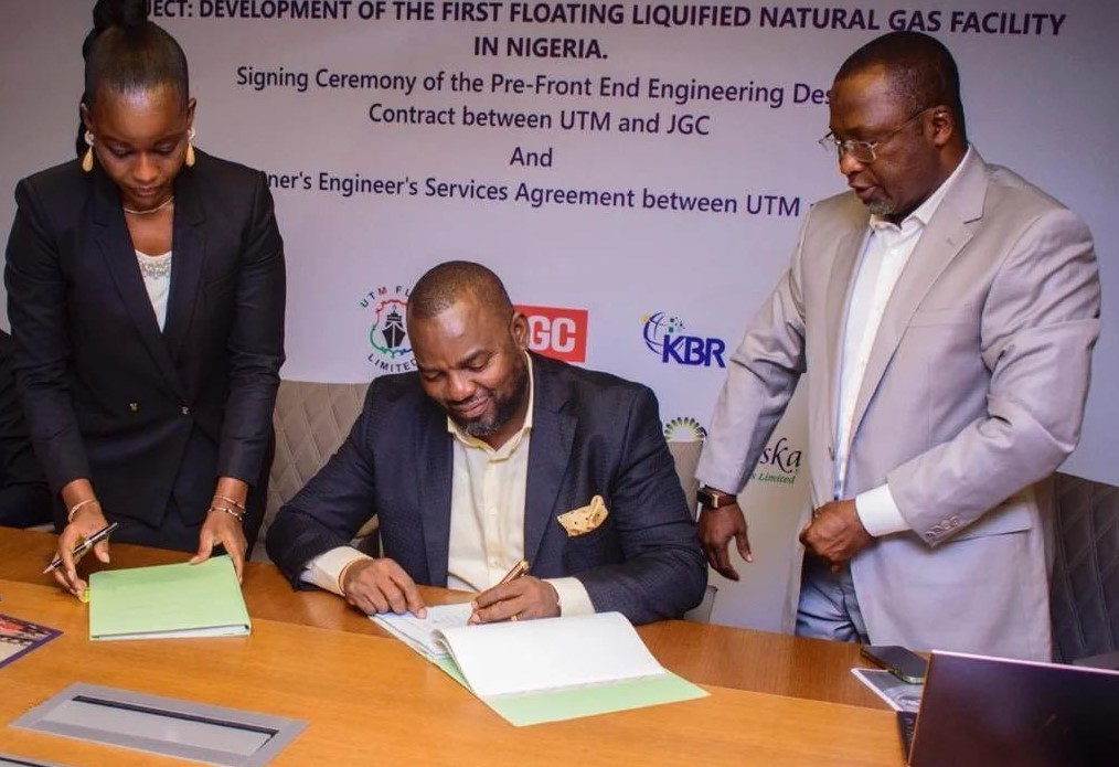 Oil and gas engineer KBR has been picked as the Owner's engineer for Nigeria's first-ever floating liquefied natural gas (FLNG) facility.