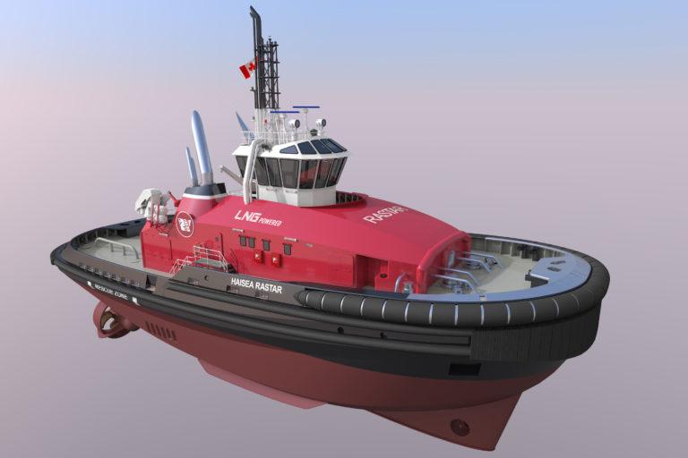 RAstar 4000 DF escort tugs