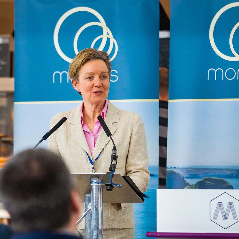 Photo of Karen Jones, director at Morlais (Courtesy of Morlais)