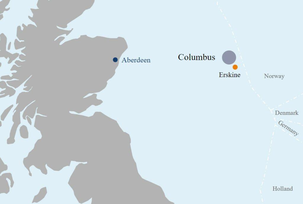 Columbus map - Serica