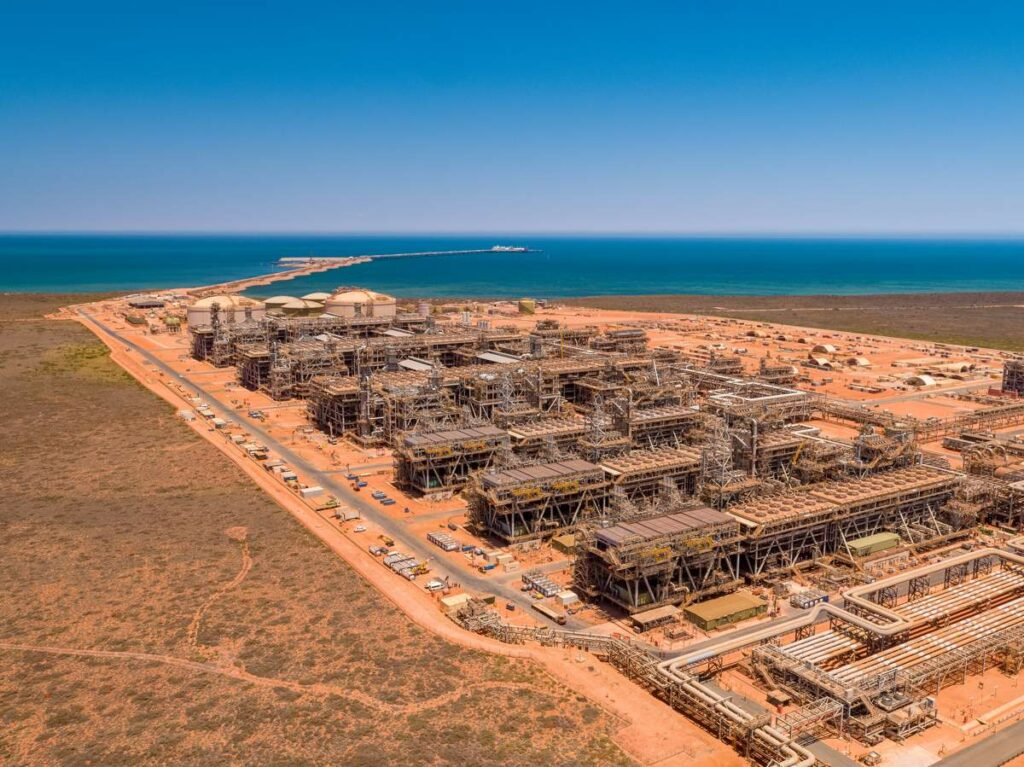 Chevron-operated Gorgon project; Photo source: Sparrows