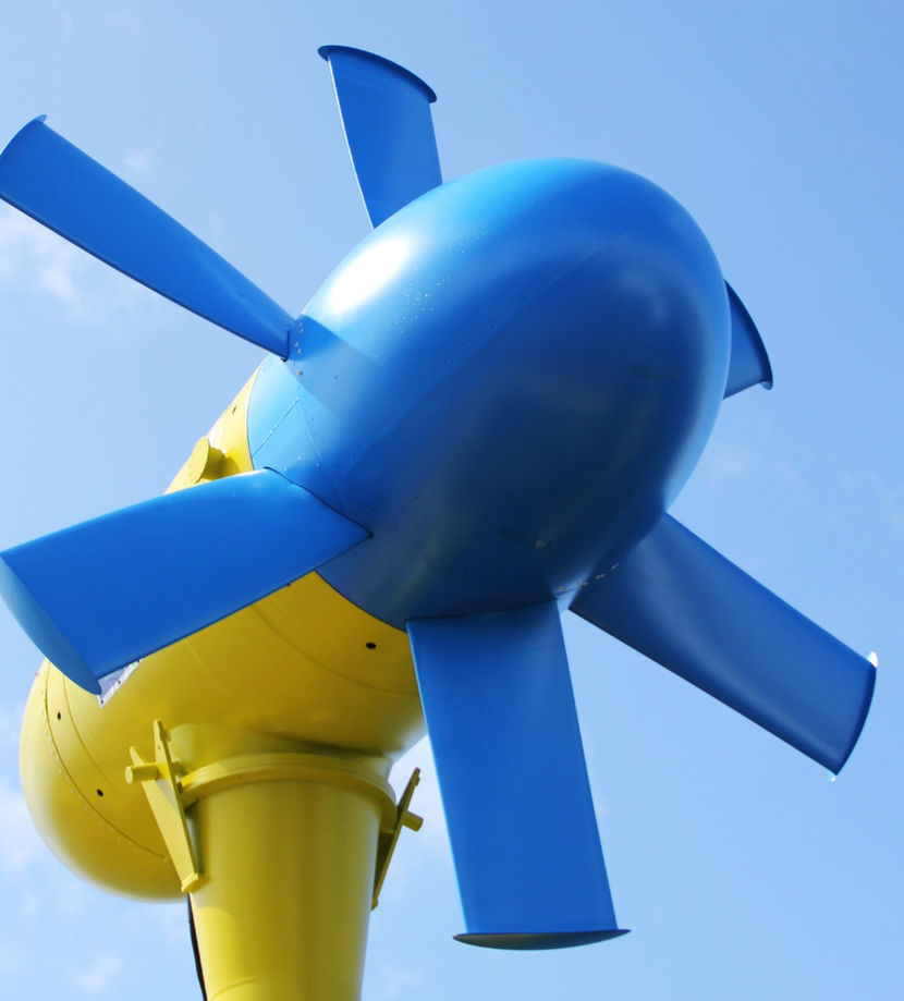 Illustration/Sabella's D10 tidal turbine (Courtesy of SELKIE)