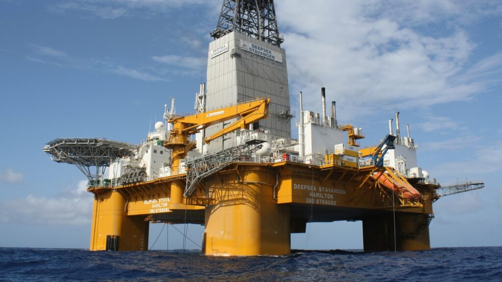 The Deepsea Stavanger rig. (Photo: Odfjell Drilling)