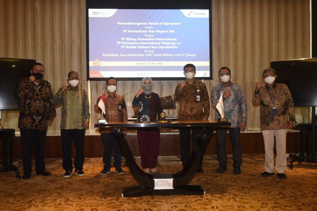 Pertamina to build LNG plant on Java