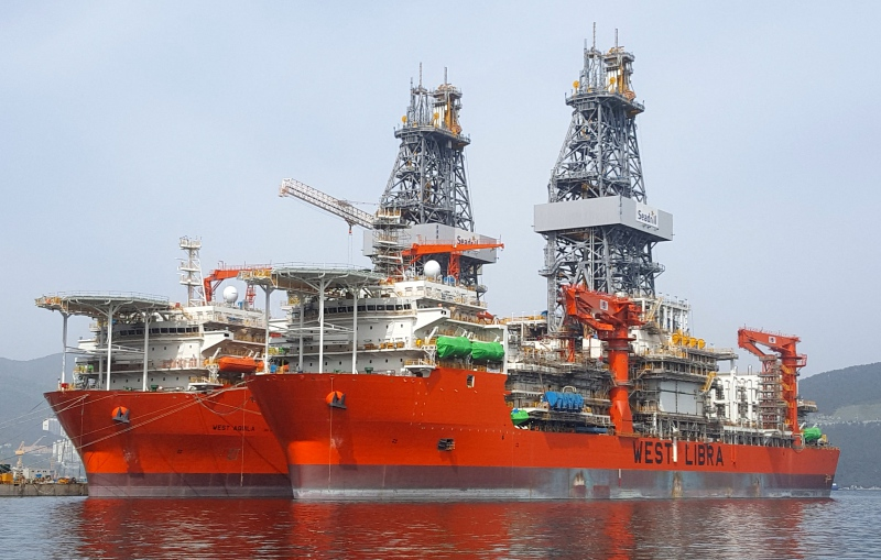 West Aquila and West Libra drillships - Northern Drilling