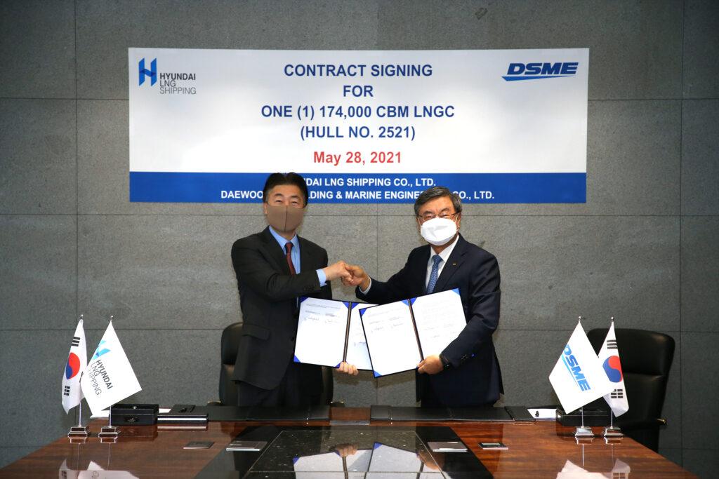 DSME scores Hyundai LNG carrier order