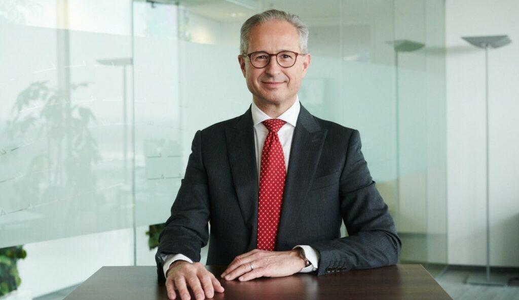 OMV's new CEO Alfred Stern; Source: OMV