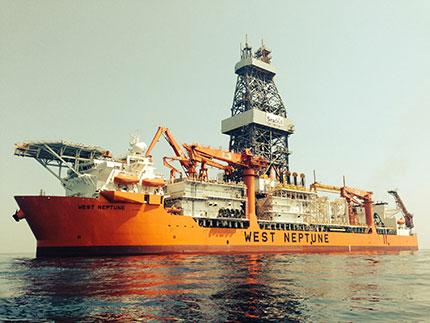 West Neptune drillship drilled for Talos