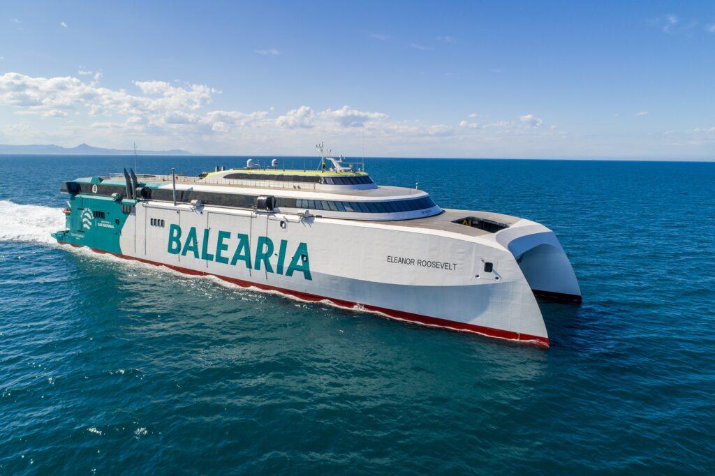 Axpo powers Eleanor Roosevelt LNG ferry with biomethane