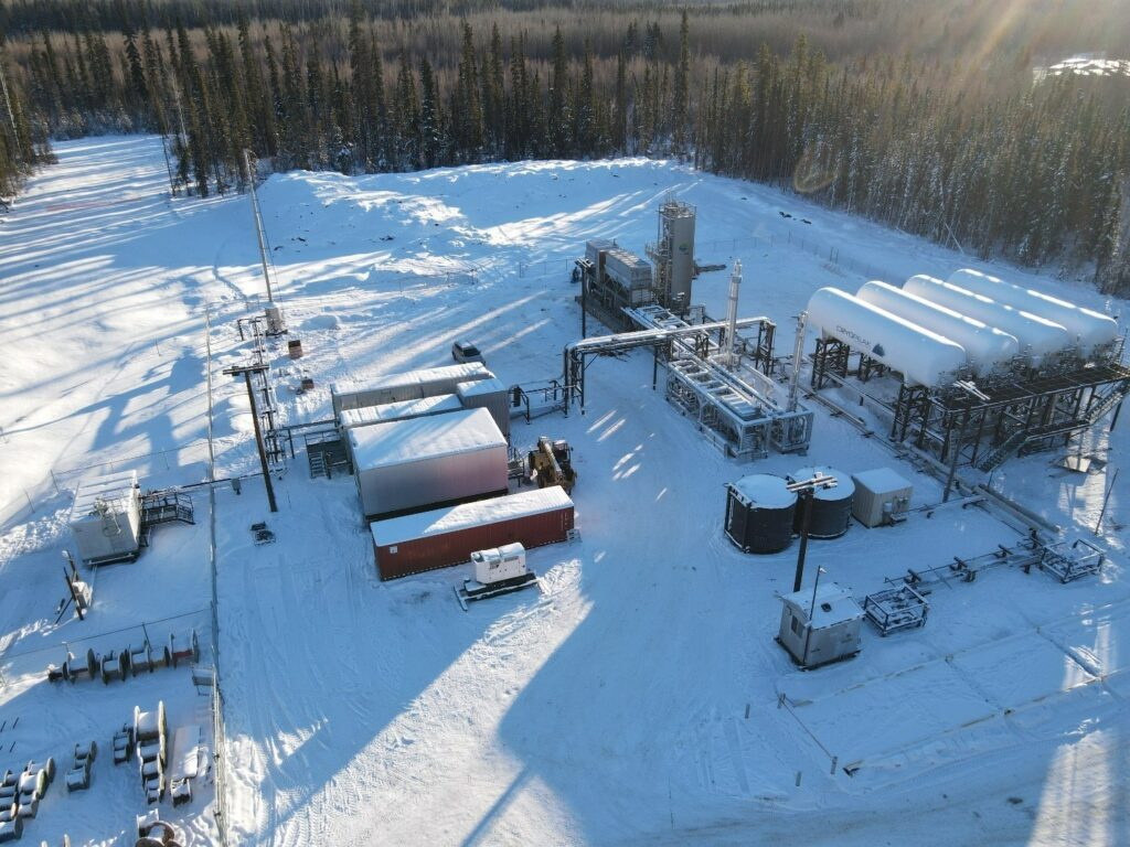 Cryopeak's Fort Nelson LNG facility now in operation