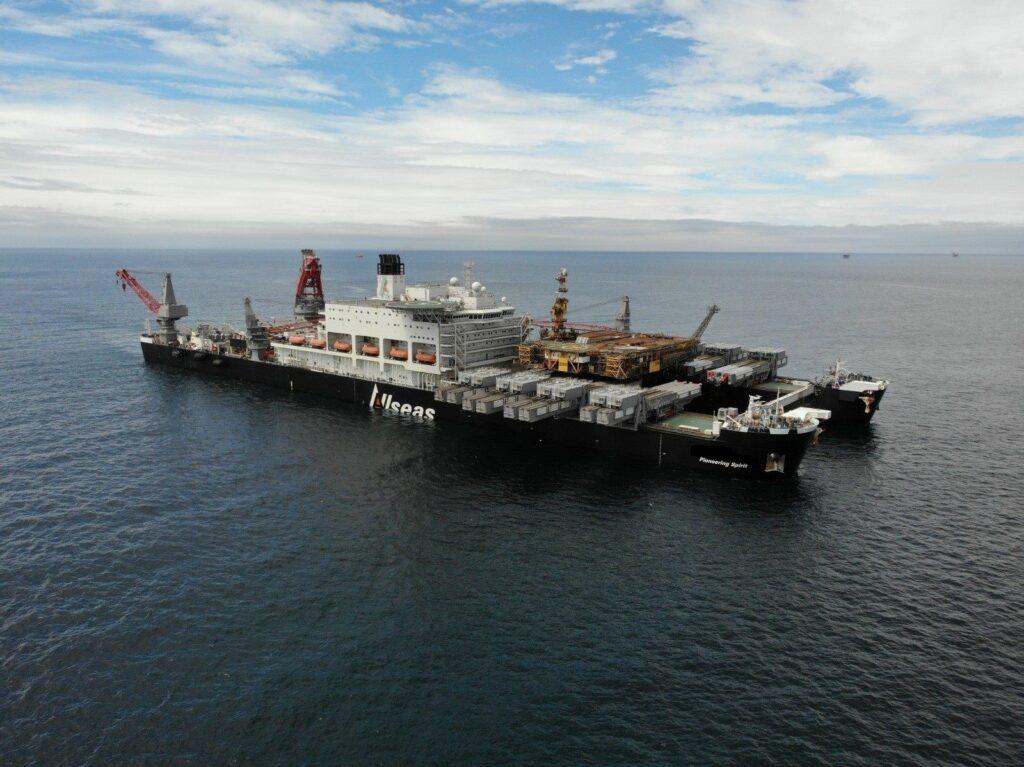 Pioneering Spirit vessel - Allseas