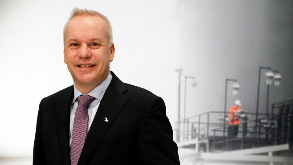 Anders Opedal, President and CEO of Equinor