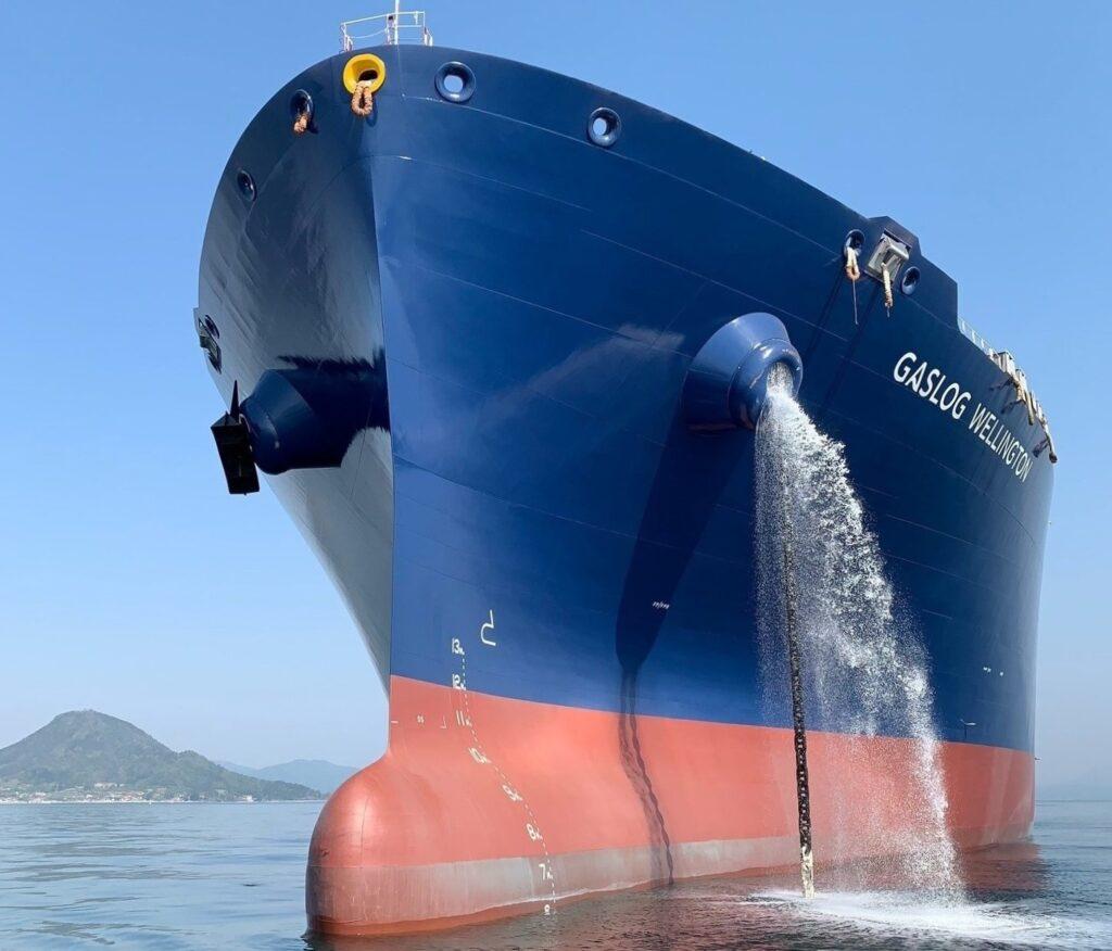 LNG newbuild GasLog Wellington delivered