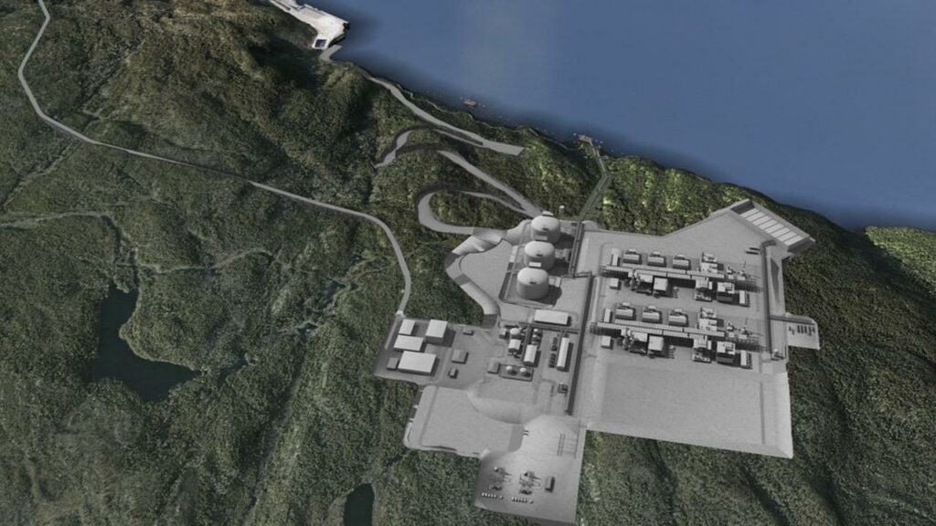 Siemens to work on GNL Quebec's LNG export facility