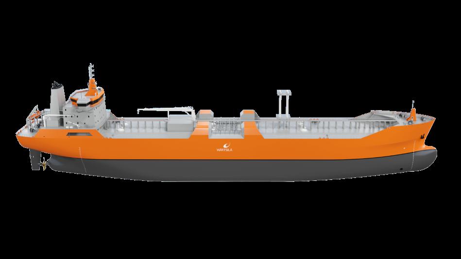 Wärtsilä tech ordered for Korean LNG bunkering vessels