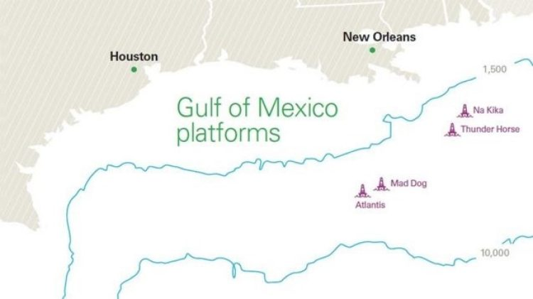 Gulf of Mexico platforms - BP