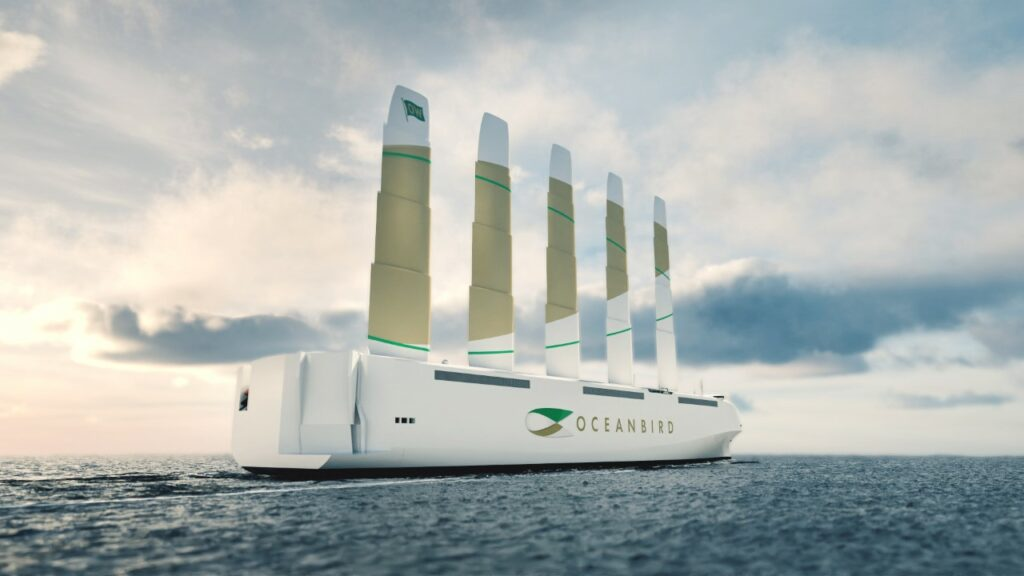 Oceanbird vessel concept