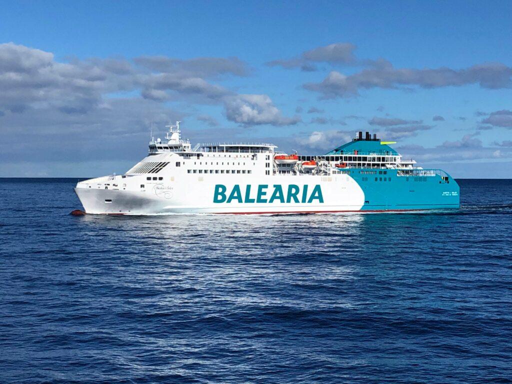 Baleària converted LNG ferry Martín i Soler to set sail