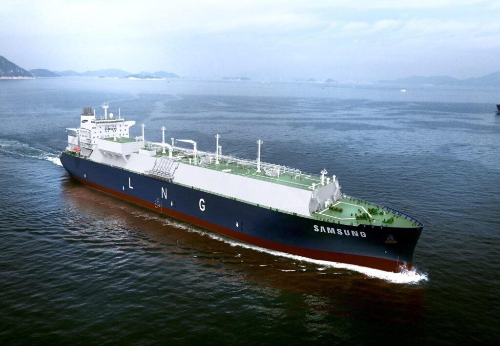 DNV approved Samsungs design for first fuel-cell propelled LNG carrier