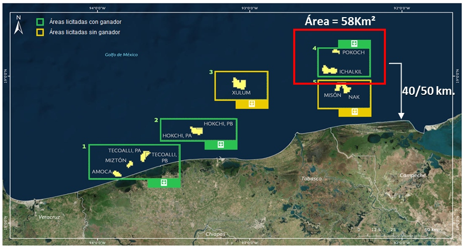 Area 4 off Mexico. Source: PetroBal