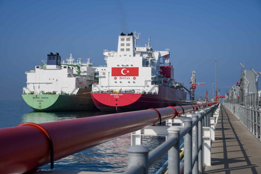 Ertuğrul Gazi FSRU receives first LNG cargo