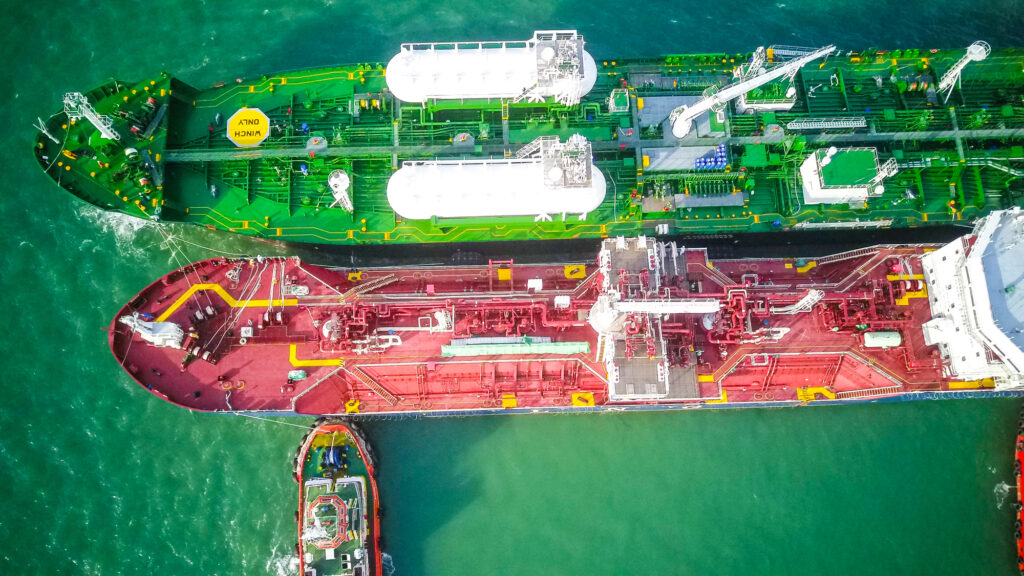 Avenir Advantage wrapped up its first LNG bunkering in Port Klang