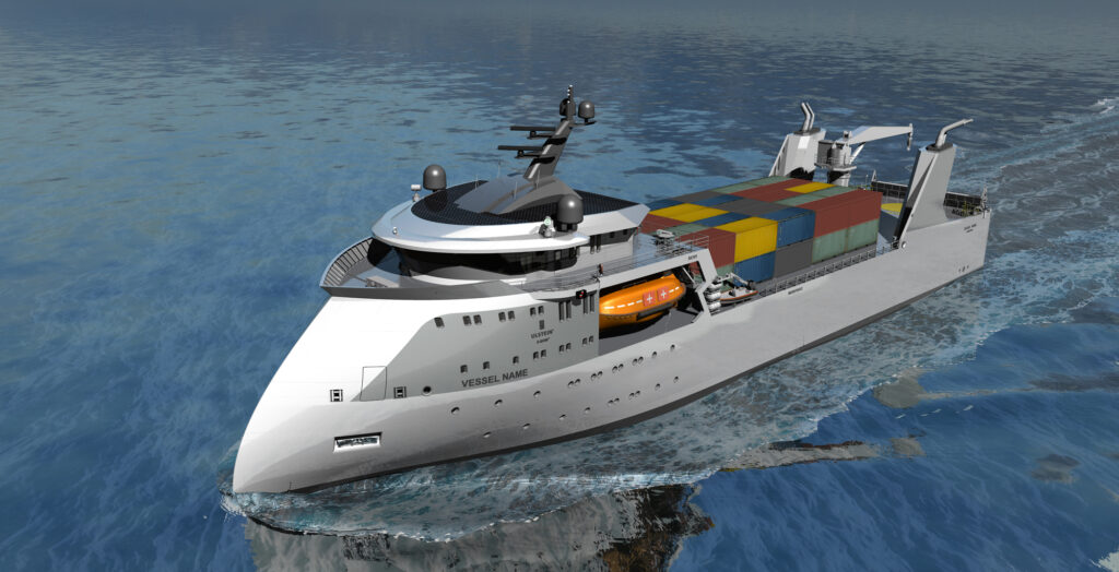 Ulstein and EDGE looking into hydrogen fuel cells for X-Bow