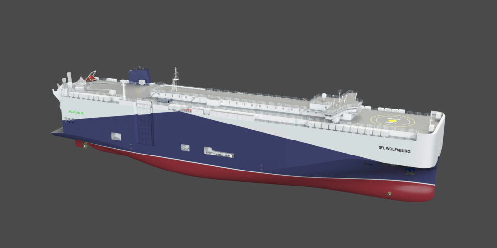 Volkswagen to replace 4 diesel ships with LNG vessels