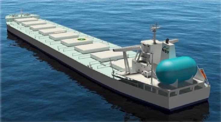 JFE Steel sings charter deals for 3 LNG-fueled bulk carriers