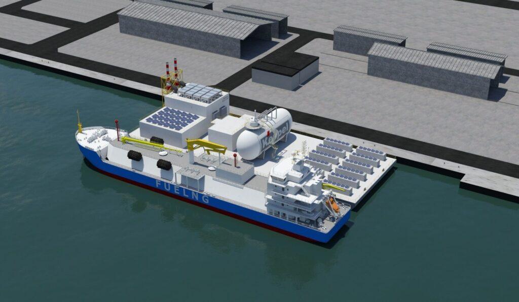 Wärtsilä provides hydrogen blends engines for Keppel O&M