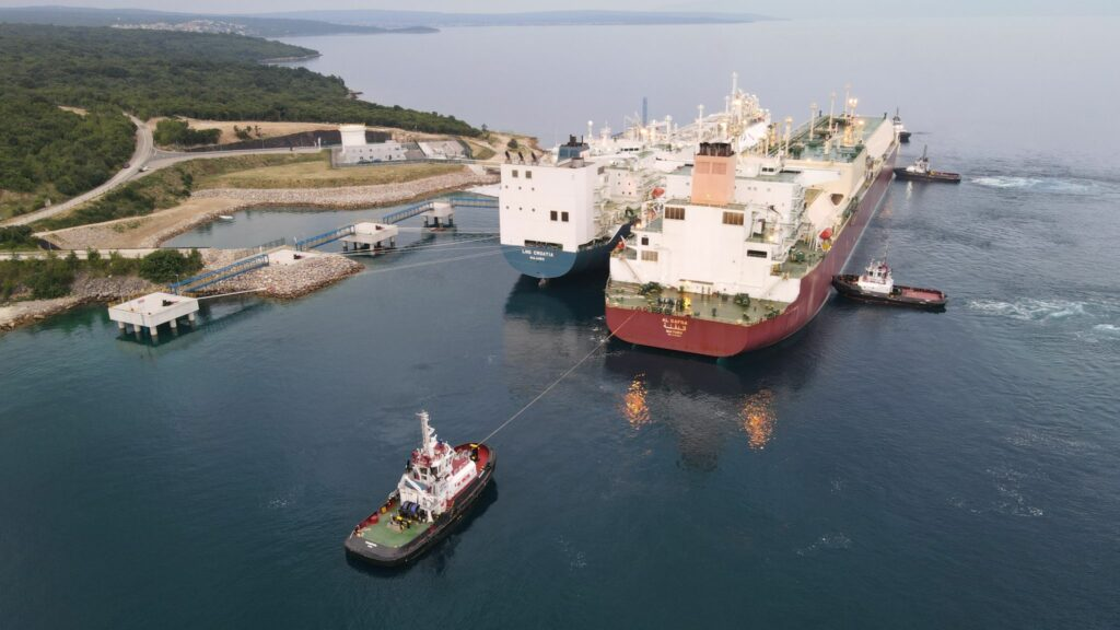 Croatia's LNG terminal receives its 10th cargo