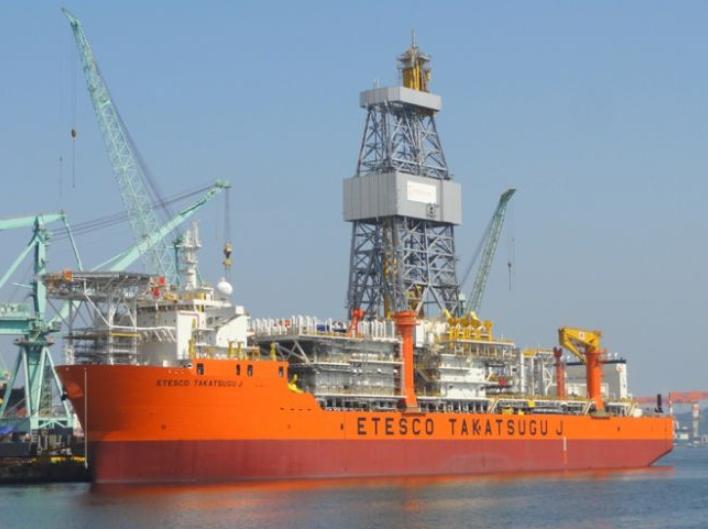Etesco Takatsugu J drillship - Petrobras