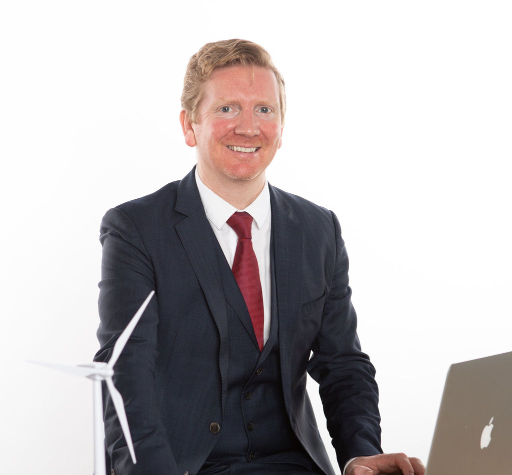 Photo showing Dan McGrail (Courtesy of RenewableUK)